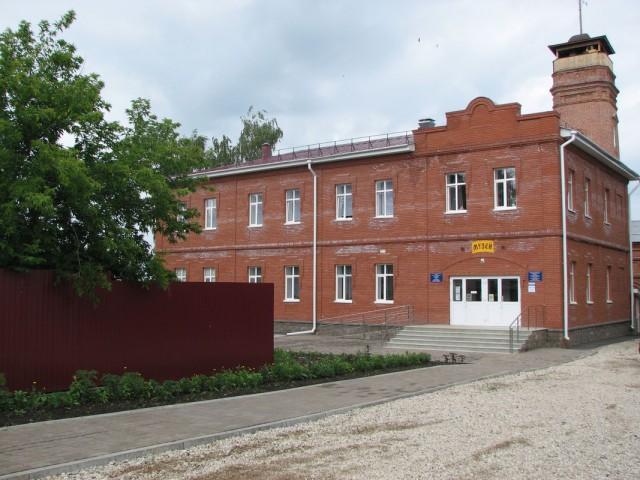 Новое здание музея по ул. Коммунистическая