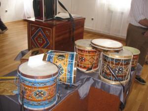 Авторская выставка народных инструментов Михаила Павловича Кутлусатова. 20 июля по 30 июля 2016 года
